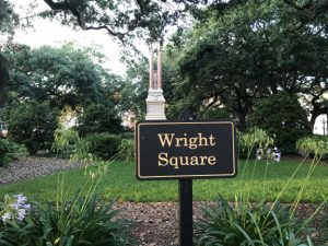 wright square savannah historic district
