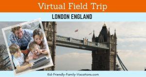 london england virtual visit