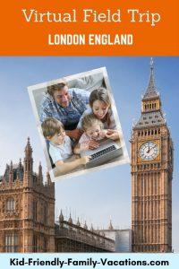 london england virtual field trip
