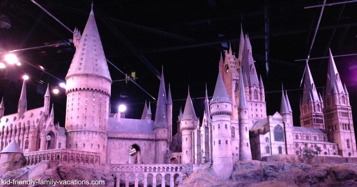 warner brothers studio - hogwarts castle